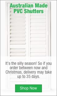 Christmas Australian Made PVC Shutters