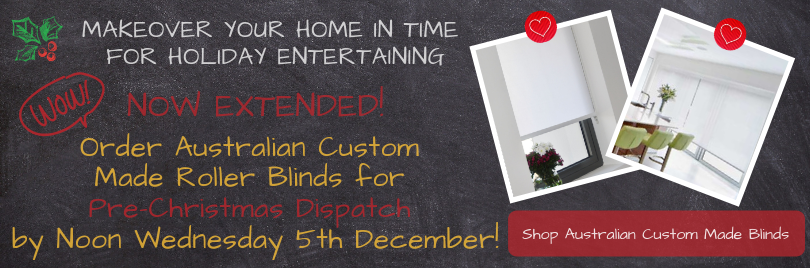 Outdoor Awnings & Blinds for Pre-Christmas Dispatch