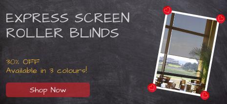 Express Screen Roller Blinds 30% Off