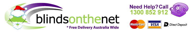Blinds On The Net Free Delivery Australia Wide*