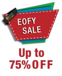 End of Year Sale up to 75% off