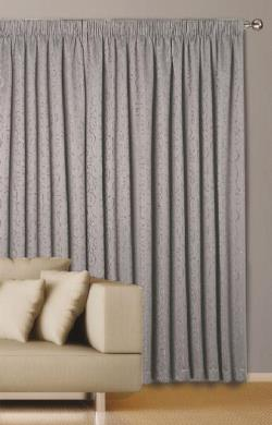 Abigail Pencil Peat Curtains - Block Out