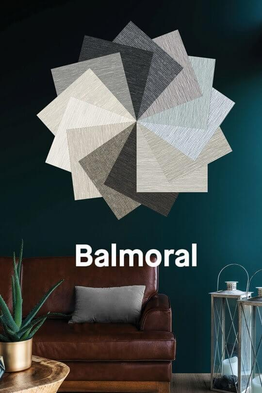 Balmoral - Textured Block Out Panel Blinds