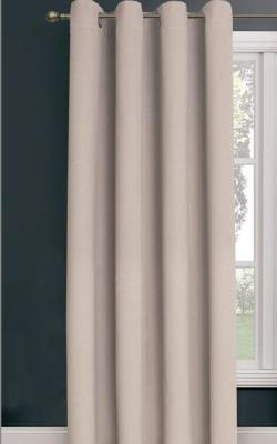 Bowen Eyelet Triple Weave Ready Made Curtains