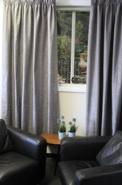 Ellwood Lined Pencil Pleat Curtains - Dim Out