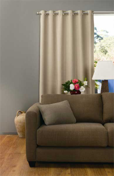Harlow Eyelet Curtain  Blockout