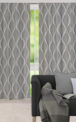 Langton Pencil Pleat Curtains - Block Out