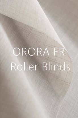 Orora FR - Textured Screen Roller Blinds