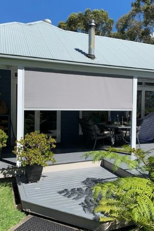 Side Channel Awning in Visiontex Plus Screen