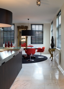 Pure Glossy Venetians - 50mm Timber