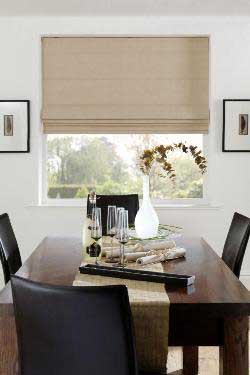 Palm Beach Block Out Roman Blinds