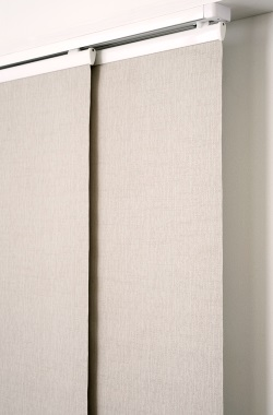 Sanctuary Textured Block Out Panel Blinds