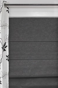 Sanctuary - Textured Block Out Roman Blinds