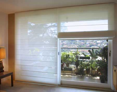 Solarview Sunscreen Roman Blinds