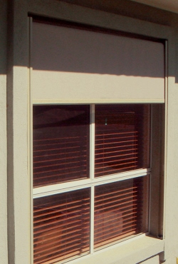 Side Channel Awning in Mode Privacy Screen