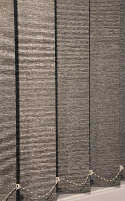 Balmoral 127mm Textured Block Out Vertical Blinds