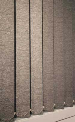 Balmoral 90mm Textured Block Out Vertical Blinds