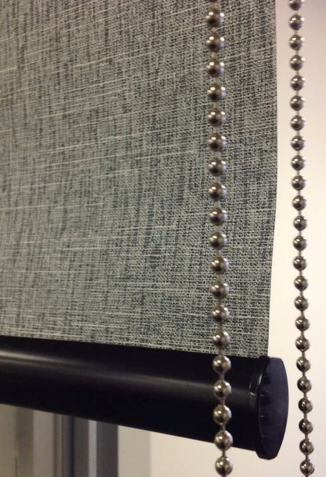 Express Madrid - Textured Block Out Roller Blinds