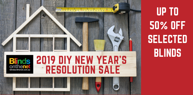 Check out our 2019 DIY New Years Resolution Sale