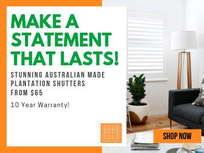Stunning Australian Made Plantation Shutters From $65.