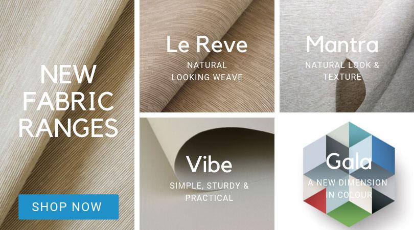 New fabric ranges