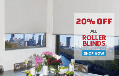 20% Off All Roller Blinds